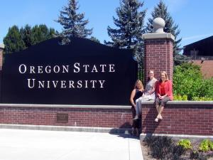 Oregon State Sign - Rehab Symposium 2014